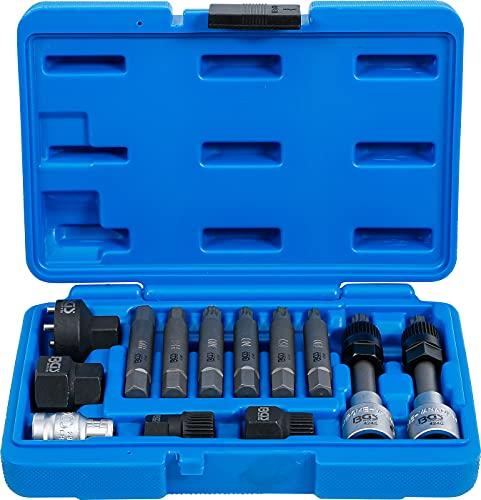 BGS 4246 | Juego de puntas puntas de vaso para alternadores | entrada 12,5 mm (1 2 ) | 13 piezas