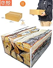 焚き木 広葉樹 宅配80サイズ段ボール箱入り1箱 【産地】長野県 薪の長さ約30~35cm 参考:重量約5~6kg前後