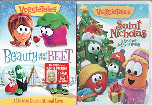 Veggie Tales Beauty and the Beet (With 8 Songs By Kellie Pickler) / St. Nicholas A Story of Joyful Giving