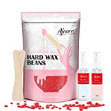 2LB Wax Beads for Hair Removal, Ajoura Hard Wax Beans (32oz) All In One Body Formula Brazilian Wax for Eyebrow, Facial, Bikini, Legs, Armpit, Back and Chest, Perfect Refill for Any Wax Warmer