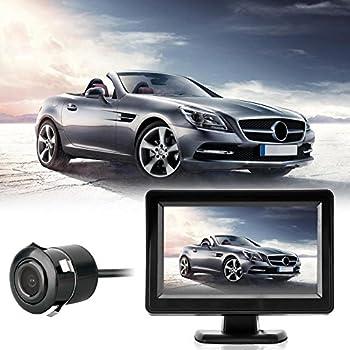 Cam Security Camera Car Reaview kit 4.3  Tft LCD Montor+ Night Version Car Reviewing Camera