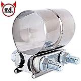 Evil Energy 4 pulgadas abrazadera de escape acero inoxidable Lap Joint - Conector de Tubo de escape