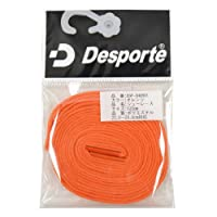 Desporte(デスポルチ)【DSP-SHOR01】フットサル シューレース 靴ひも オレンジオレンジ 120