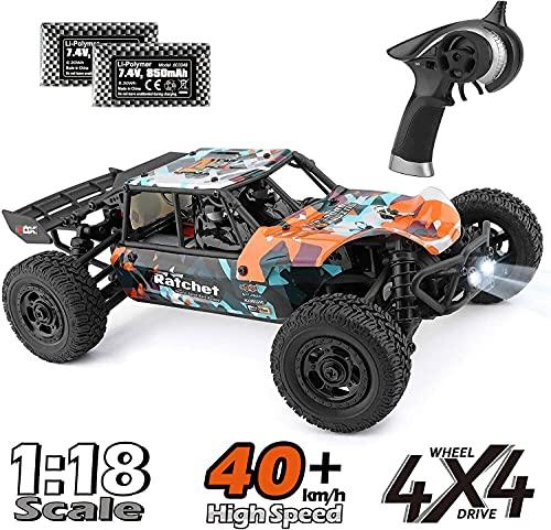 ラジコンカー HBX リモコンカー 1/18 2.4Ghz 4WD RTR 電動オフロードバギー 36 km/h 高速 RCカー 競技可能 ...