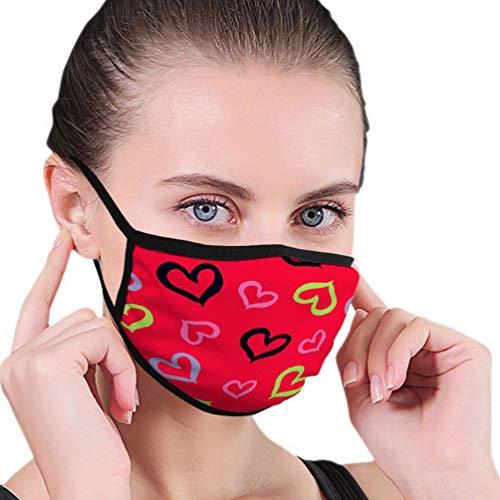 Herbruikbare neushoes, half gezicht hoes, anti-stof warme Respirator, naadloze decoratieve print doek behang, afwasbare mondbeschermer, verstelbare oorlussen, vrouwen mannen mondhoes