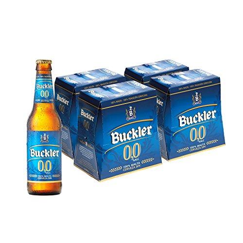 Buckler 00 Cerveza - 4 Packs de 6 Botellas x 250 ml - Total: 6 L