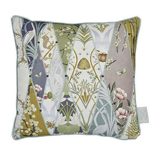 The Chateau by Angel Strawbridge NOUVEAU Tapestry Multi Cushion - 43 x 43cm - Poly Filled -