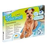 Ferplast Kühlmatte Pet Cool Mat, für Hunde, Maße 40 x 50 x 2 cm, blau - 2