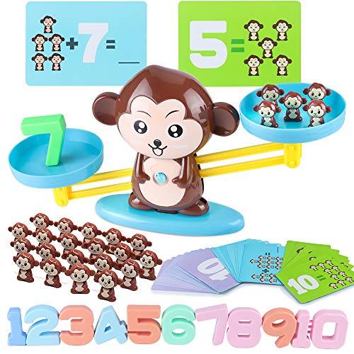 ICENOVE STEM Toys Monkey Balance