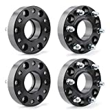 KSP 6X5.5 Wheel Spacers for 2019+ Ram 1500,1.5'(38mm) Real Forged Spacers with 77.8mm Hub Bore M14x1.5 Studs fit for Ram 1500