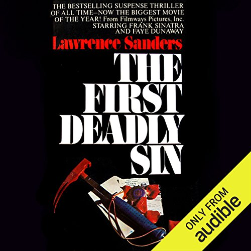 The First Deadly Sin audiobook cover art