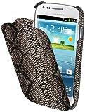 Muvit MUSNF0003 - Funda para Samsung Galaxy S3 Mini, Negro