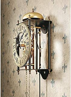 Design Toscano The The Templeton Regulator Steampunk Decor Wall Clock, 26 Inch, Bronze Finish