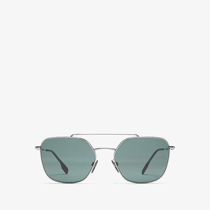 Burberry  0BE3107 (Gunmetal/Green) Fashion Sunglasses