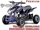 Motorbimbo Nitro Motors MIni Quad 50 Jumpy 4' Premium Blu