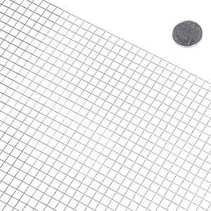 """Fencer Wire Hardware Cloth 23 Gauge Galvanized 24""""x25' 1/4""""x1/4"""""""