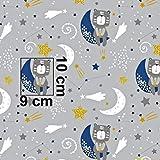 Pingianer 11,99€/m 100x160cm Eisbär Igel 100% Baumwolle