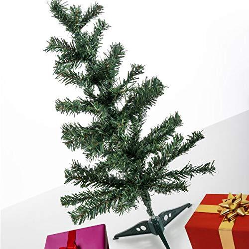 BigBuy Christmas Arbol de Navidad Clasico Christmas Planet (60 cm), Compuesto, Multicolor, Talla Unica