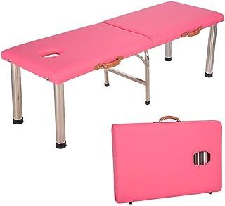 سرير تدليك جميل، سرير طاولة تدليك ومقسمين، بعرض 60 سم، قابل للطي، من الفولاذ المقاوم للصدأ، قابل للطي، مناسب للاستخدام على...