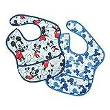 bumkins(バンキンス) ディズニーコラボビブシリーズ  Mickey(ブルー)