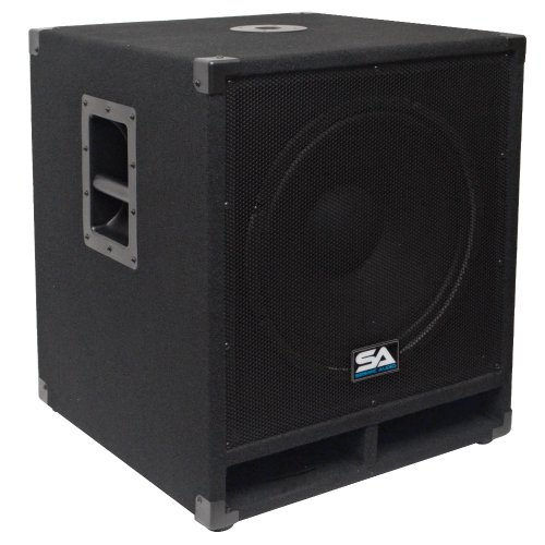Seismic Audio - Baby-Tremor - 15' Pro Audio Subwoofer Cabinet - 300 Watts RMS - PA/DJ Stage, Studio, Live Sound Subwoofer