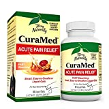 Terry Naturally CuraMed Acute Pain Relief, 60 Liquid Gels - with BCM-95 Curcumin, BOS-10 Boswellia & Black Sesame Seed Oil - Small, Easy to Swallow, Fast Dissolving - Non-GMO - 30 Servings