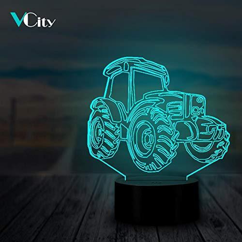 ATV-förmige Dune Beach Buggy Cruiser Freund Kreative LED 3D LED Nachtlicht USB Tischlampe Kinder Geburtstag Geschenk Nachtdekoration am Bett