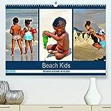Beach Kids - Strand-Kinder in Kuba (Premium, hochwertiger DIN A2 Wandkalender 2022, Kunstdruck in Hochglanz): Kubanische Kinder beim Spielen im Sand (Monatskalender, 14 Seiten )