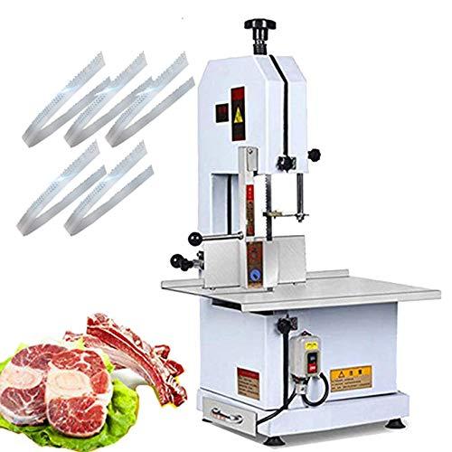 CGOLDENWALL - Máquina de cortar huesos eléctricos de acero inoxidable para cortar carne de cerdo y carne de cerdo, 1600 W 220V