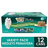 Purina Fancy Feast Gravy Wet Cat Food Variety Pack, Medleys Primavera...
