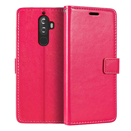 Lenovo Vibe K8 Note Wallet Case, Premium PU Leather Magnetic Flip Case Cover with Card Holder and Kickstand for Lenovo Vibe K8 Note