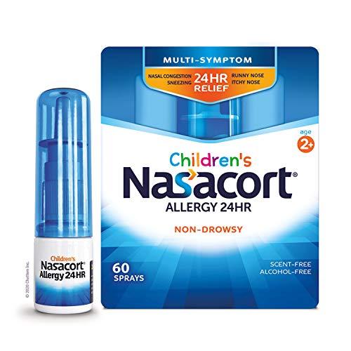 Nasacort Children's Allergy 24HR Nasal Spray, Non-Drowsy &...