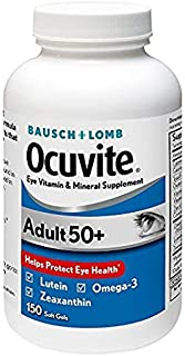 Bausch + Lomb Ocuvite Supplement, Adult 50+ (150 ct.) Pack of 3 hd^jhoi