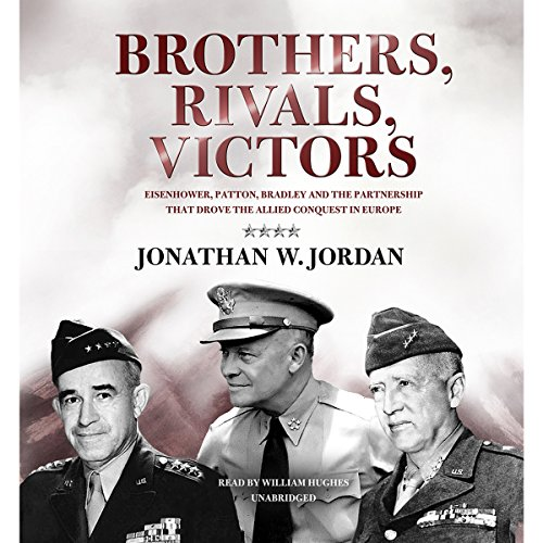Brothers, Rivals, Victors audiobook cover art