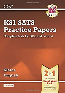 KS1 Maths and English SATS Practice Papers Pack (for the tests in 2018 and beyond) - Pack 2