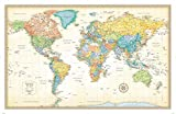 Rand McNally Classic Edition World Wall Maps