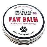 Baume naturel pour patte de chienApaise, hydrate et restructure les pattes abimées et sèches Aucune douleurFabriqué au Royaume-Uni.