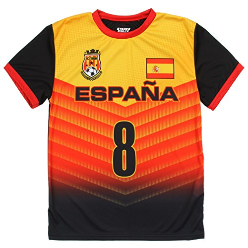 Strike Force Youth World Cup Soccer Jersey - Spain