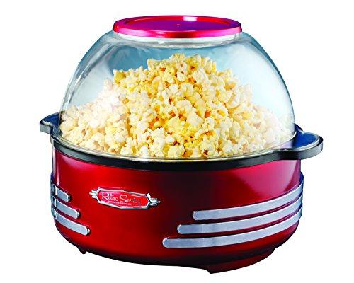 Nostalgia SNP-16 Popcornmaschine, 1000 W, Rot