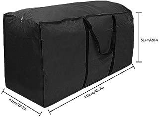 Liviana y F/ácil de Transportar 116 x 47 x 51cm Bolsa de Tela Oxford 210D para Trabajo Pesado e Impermeable Verde Jiayida Bolsa de Almacenamiento De Cojines para Muebles de Jard/ín Al Aire Libre