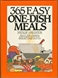 365 Easy One-Dish Meals 0060163119 FIRST EDITION 1990 NATALIE HAUGHTON