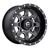 Fuel D538 Maverick ATV/UTV 15x7 4x156 +13mm Black/Milled Wheel Rim