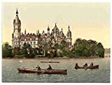 Photo The ducal castle II Schwerin Mecklenburg Schwerin A4