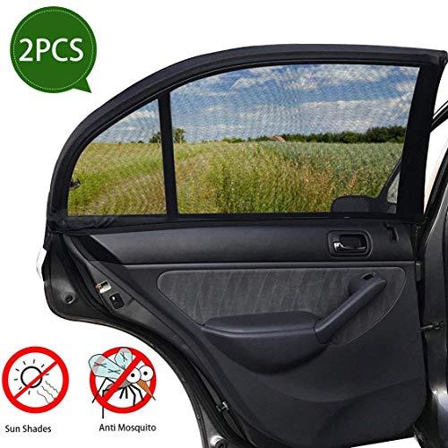 SPECOOL Parasole laterale auto e parasole per lunotto posteriore (2 pezzi), protegge il bebè dal sole e dai raggi UV.