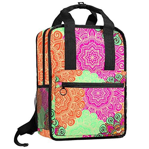 Nette College-Tasche Mode lässig Rucksack Reise Tagesrucksack für Mädchen Junge Teenager Islam Arabisch Osmanische Motive