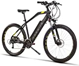 RDJM Bici electrica Bicicletas eléctricas for adultos y adolescentes, de aleación de magnesio Ebikes Bicicletas Todo Terreno, 27.5' 400W 48V 13Ah extraíble de iones de litio de la montaña E-bici for h
