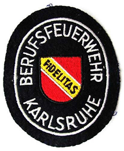 Berufsfeuerwehr - Karlsruhe - Ärmelabzeichen - Abzeichen - Aufnäher - Patch - Motiv 1