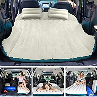 WEY&FLY SUV Air Mattress with 2 Inflatable Pillows Car...