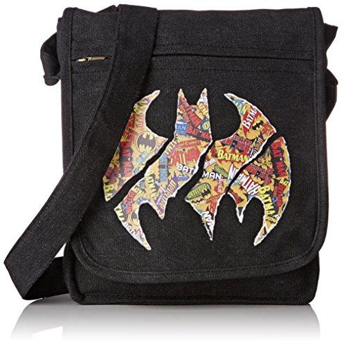 ABYstyle DC COMICS - Bolso bandolera con logo de Batman (23 x 27 x 8 cm)