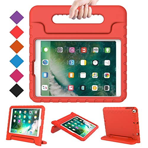 BMOUO Case for New iPad 9.7 Inch 2018/2017 - Shockproof Case Light...